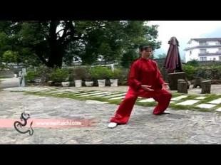 Master Mei demo's her qigong form